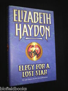 Elegy-for-a-Lost-Star-Elizabeth-Haydon-Hardback-2004-1st-Sci-Fi-Fantasy-Novel