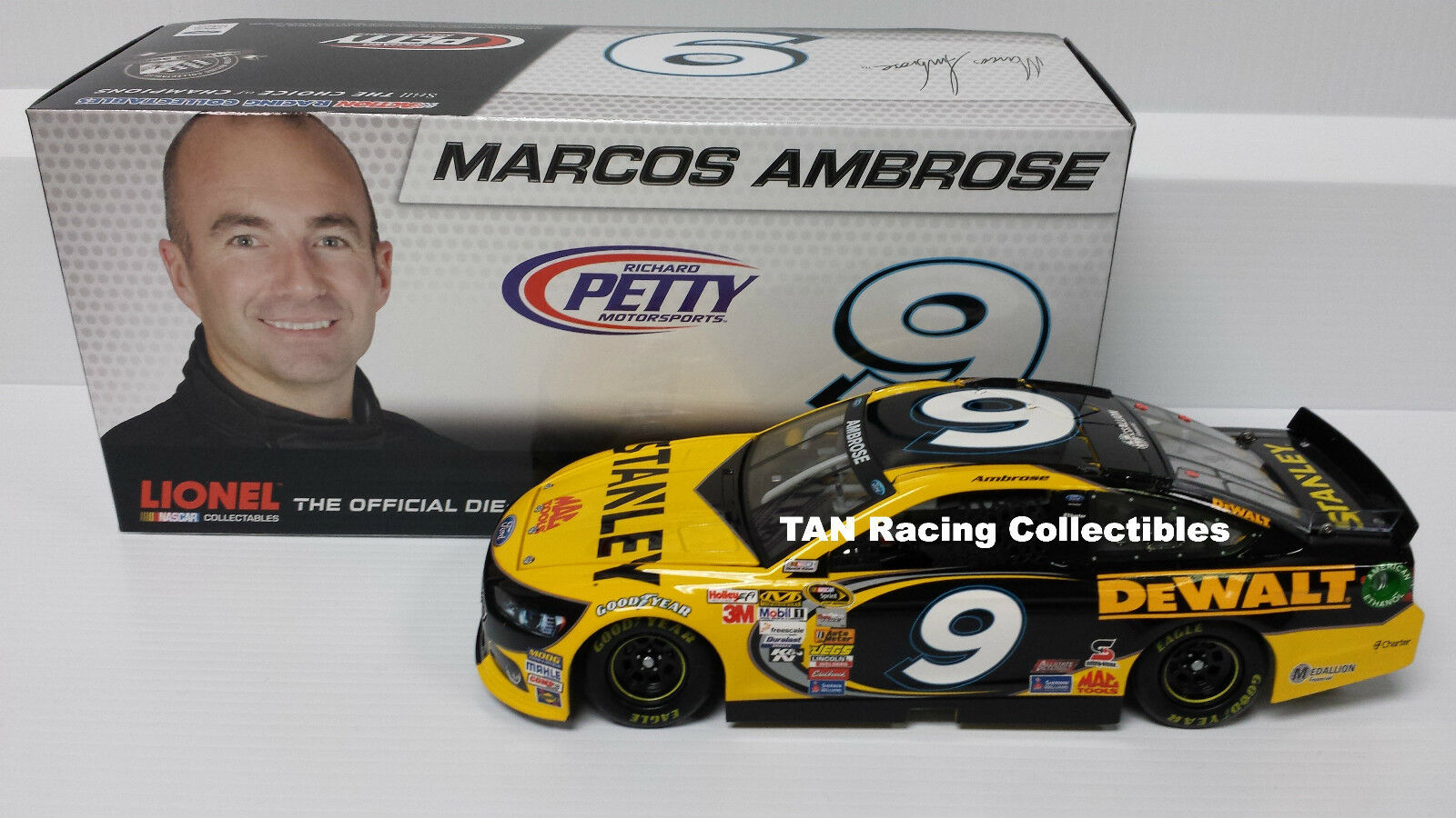 Marcos Marcos Marcos Ambpink 2013 Lionel Action Stanley Tools 2nd Half 1 24 FREE SHIP 184b6e