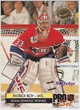 1992-93 PRO SET AWARD WINNER: PATRICK ROY #CC2 CANADIENS NHL GREATEST GOALTENDER