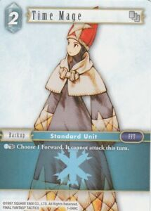 Details about FINAL FANTASY TCG 1 X TIME MAGE 1-049C COMMUN