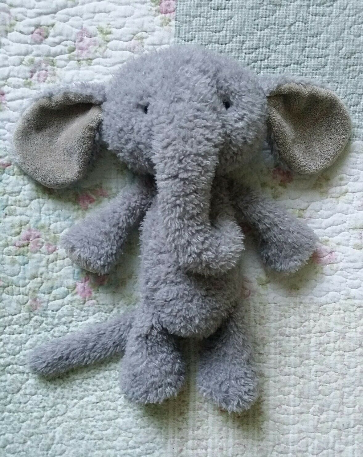 Jellycat Vintage Elephant Collectable Toy 14  Retired