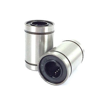 LM10UU Linear Ball Bearings Bushing - 10mm - 3D Printer / CNC / RepRap / Prusa
