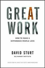 Great Work: How to Make a Difference People Love (Business Books)