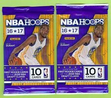 LOT OF (2) 2016-17 PANINI HOOPS BASKETBALL AUTO AUTOGRAPH HOT PACK