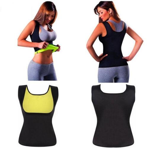 Lot US Sweat Sauna Body Shaper Women Slimming Vest Thermo Neoprene Waist Trainer
