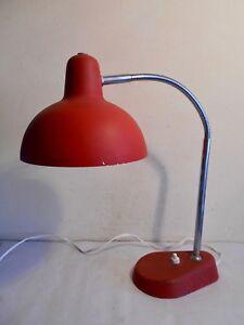 ANCIENNE-LAMPE-BUREAU-ALUMINOR-NICE-FRANCE-DESIGN-VINTAGE-1950-60-ORIENTABLE