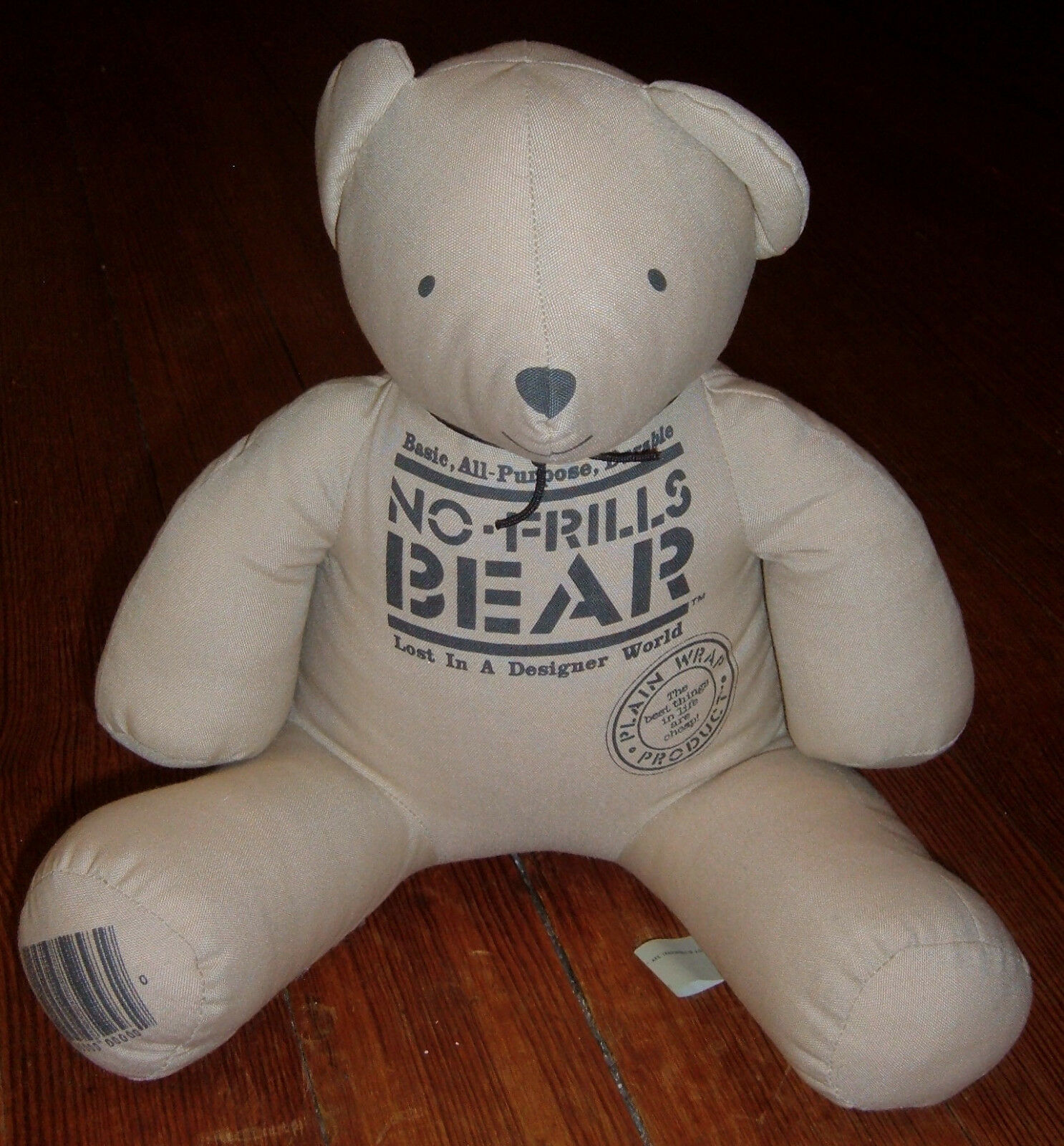 Basic All-Purpose Durable NO-FRILLS BEAR Lost In A Designer World ©1985 R. DAKIN