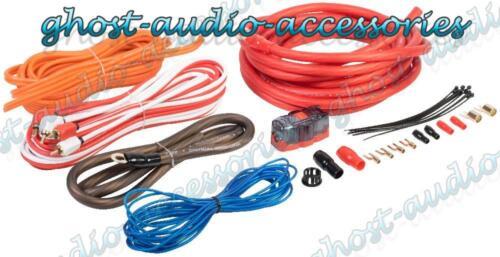 Vibe CL4AWK 2000w calibre 4 AWG completa CAR AUDIO AMPLIFICADOR AMP SUB Kit de cableado