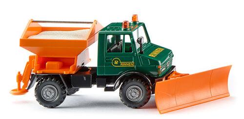 Wiking 064608 h0 camiones Unimog u 1300 invierno servicio canalones
