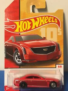 Hot Wheels Cadillac Elmiraj rotmetallic