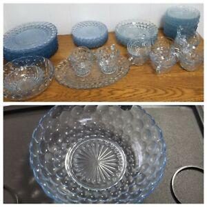 Vintage Anchor Hocking Hobnail Bubble Glass Depression REPLACEMENT BOWL