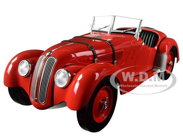 1936 bmw 328 rote ltd. 504pcs 1   18 ein diecast modell - auto von minichamps 155025031