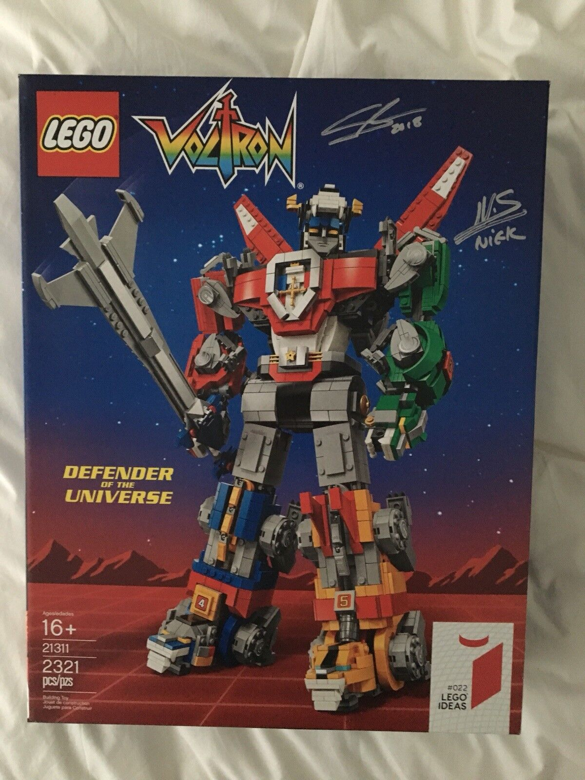 SDCC 2018 LEGO VOLTRON DEFENDER OF THE UNIVERSE IDEAS FIRST RELEASE