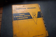 Case W26 Wheel Loader Service Manual Repair Overhaul Shop Rubber Tire Pay Book