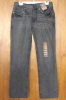Men's Arizona Jeans Skinny Light Gray Denim 32 X 30 Rn 93677 Sits Low On Waist