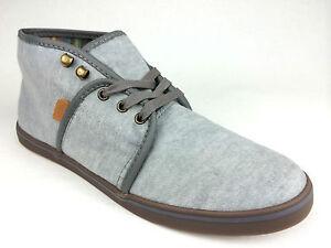 0615b5384f VANS. Women s or Men s CAMRYN Slim Casual Canvas HI Shoes. GREY ...