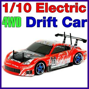 NEW-1-10-DRIFT-RACING-CAR-RTR-ELECTRIC-RC-REMOTE-4WD-BATTERY-POWERED-BUGGY-D8