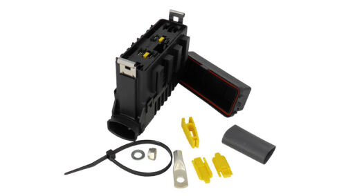 4-Way Power Distribution Box for Maxival Fuses with Bus bar MTA