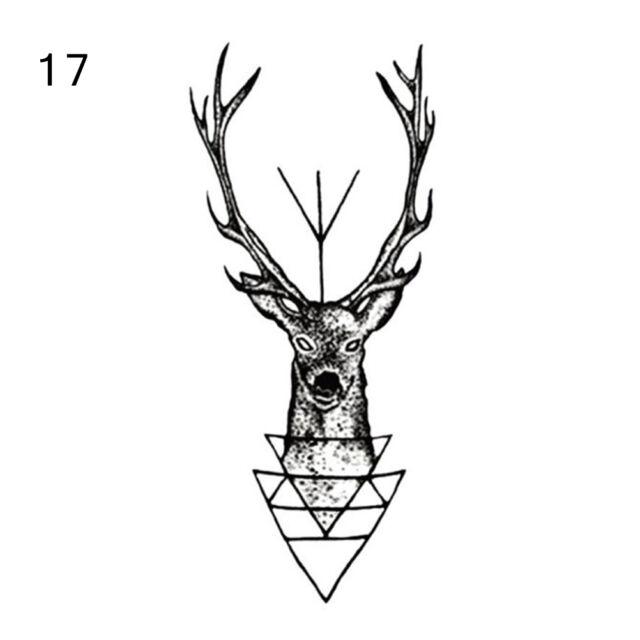 32 Styles Sexy Removable  Sleeve Waterproof Temporary Tattoo Body Art Sticker gt