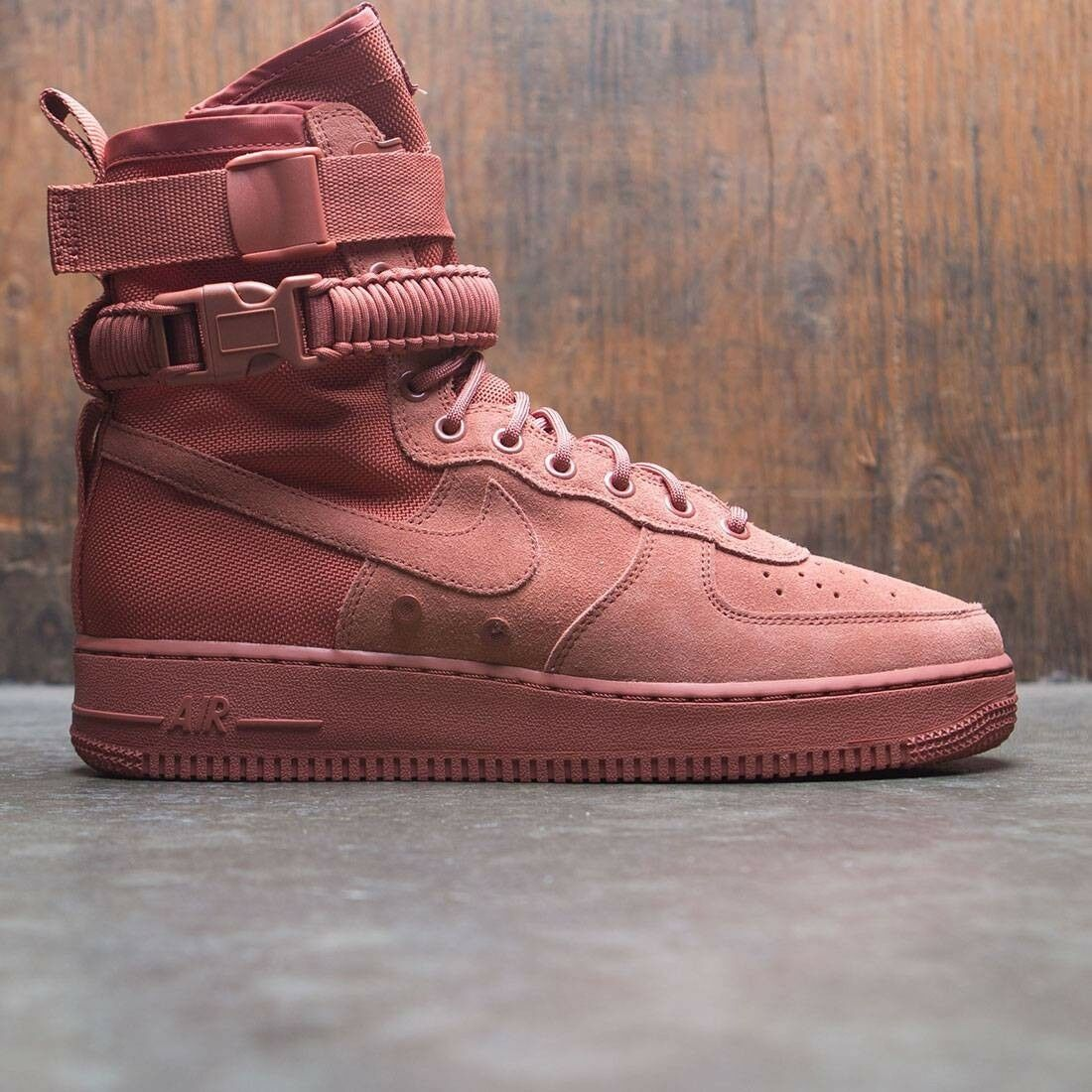 Nike sf speciale campo air force 1 af1 boot dusty pesca dimensioni 864024-204