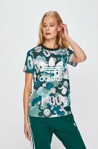 Details about New Adidas Originals 2019 ART Tshirt Shirt camouflage cartoon Jacket DV2672