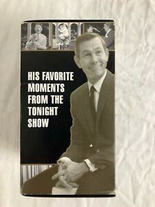 TONIGHT-SHOW-Johnny-Carson-039-s-Favorite-Moments-VHS-Box-Set-Vintage-TV-Episodes