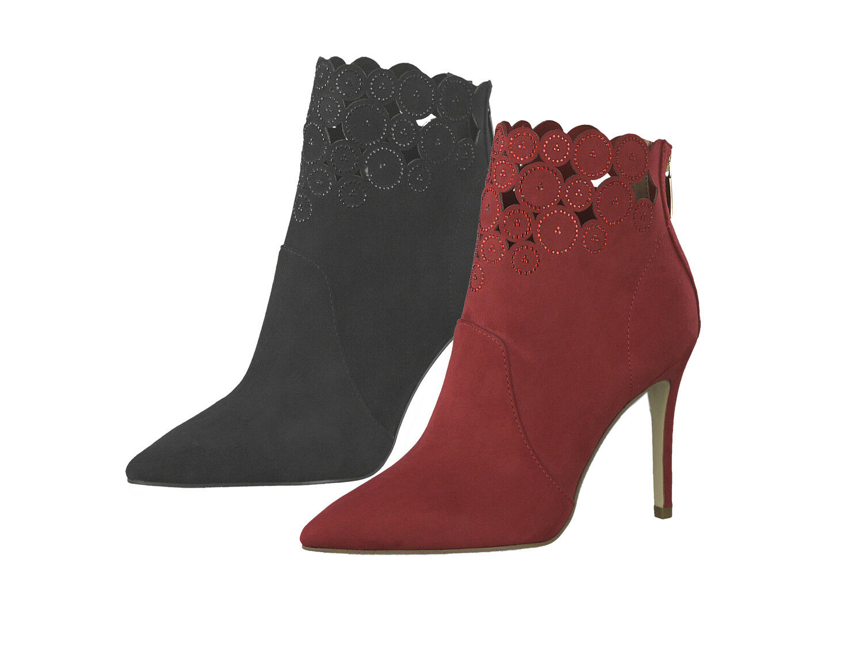 Tamaris 1-25709-31 señora tacón alto botín botas Stiletto