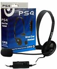 ORB Wired Chat Headset PS4 VideoGames