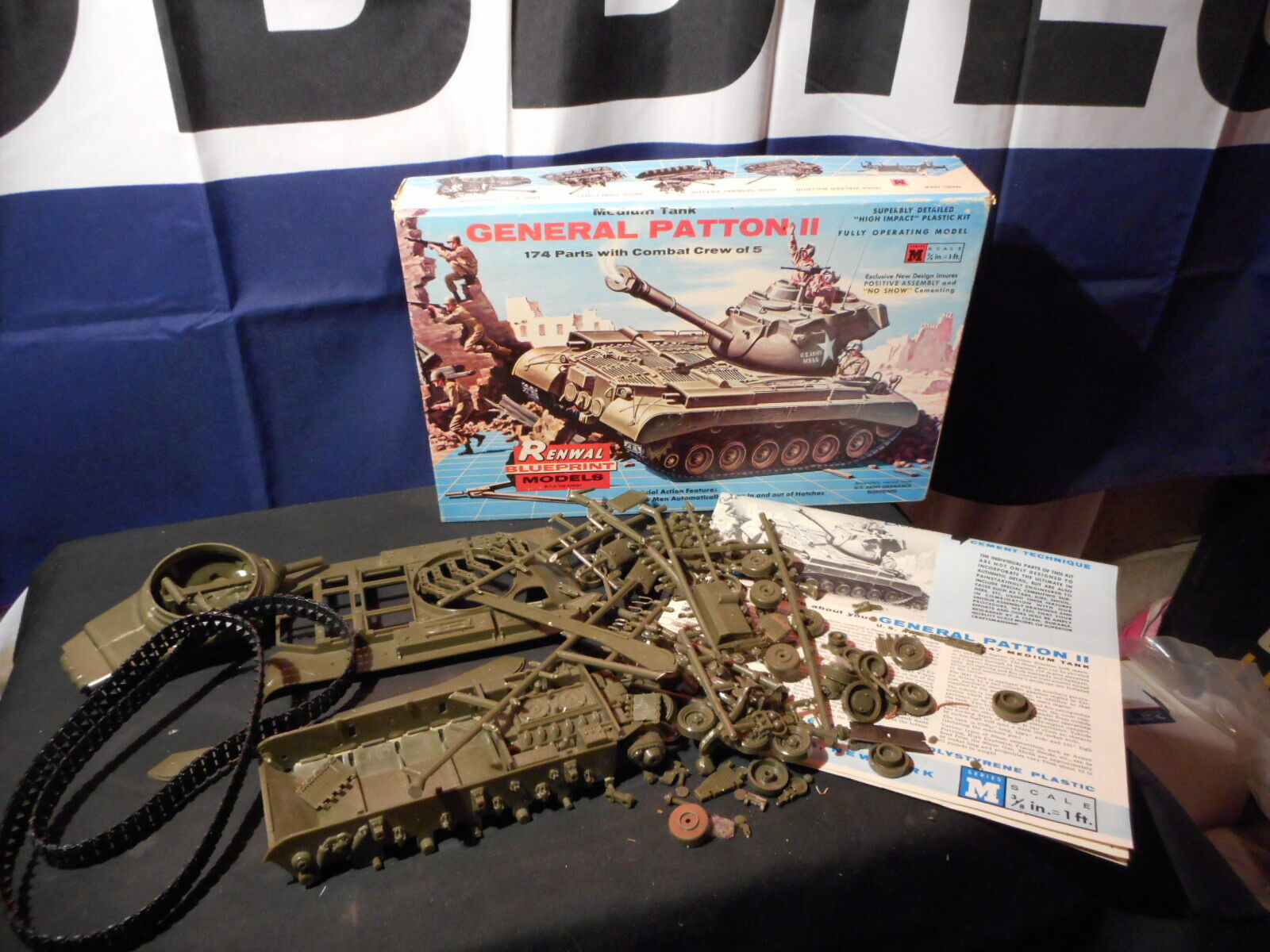 modelll Kit General Patton II Medium Tank