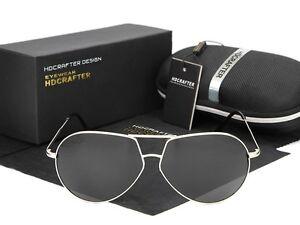 34609da8cfa Image is loading HDCrafter-Round-Polarized-Sunglasses-Retro-UV-400-Outdoor-