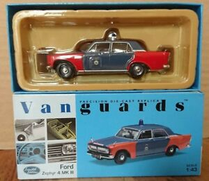OXFORD DIECAST 76ZEP011 1:76 OO SCALE Ford Zephyr Bomb Disposal Squad