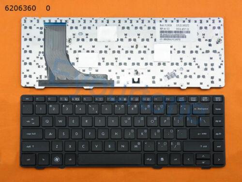 New for HP ProBook 6360B Laptop Keyboard US Black Frame Black