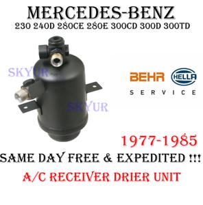 A//C Receiver Drier For MERCEDES 230 240D 280CE 280E 300CD 300D 300TD BEHR