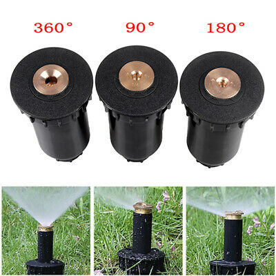 10x verstellbare Sprinkler-Sprinklerköpfe Messing Benetzungsbewässerung-Düs