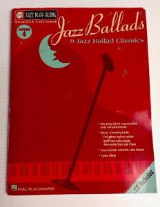 Hal-Leonard-Jazz-Ballads-Vol-4-Play-A-Long-Songs-Lyrics-amp-CD-2002-Paperback