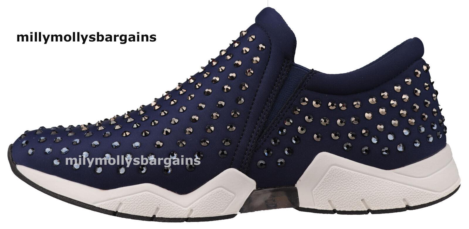 Nuevas zapatillas para mujer azul marino Talin Aldo