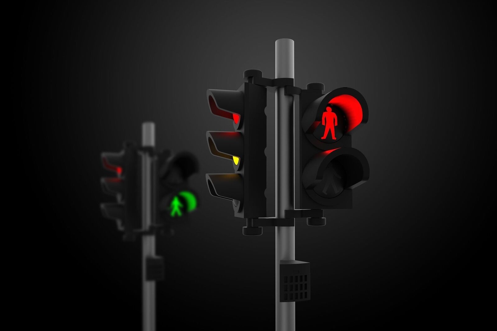 TINY Hong Kong City Scale 1 76 Ax1 Traffic Light Set Lighting Accessories Model