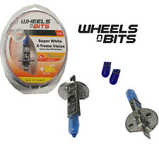 Ruedas n bits H1 Super White X-treme Vision Xenon Gas Bombilla halógena de 55 vatios +50%