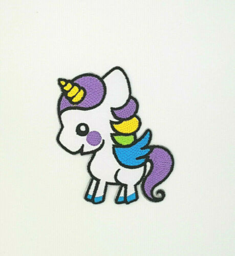 UNICORN  Iron On Sew On Embroidered Patch 4 DESIGNS TO CHOOSE FROM