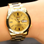 Seiko-5-SNKE06K1-Automatic-Gold-Tone-Stainless-Steel-Analog-Men-039-s-Watch thumbnail 2