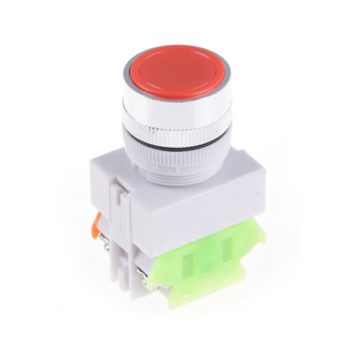 Electrical 22MM Emergency Stop Switch Flat Momentary  Push Button 1NO 1NC VP