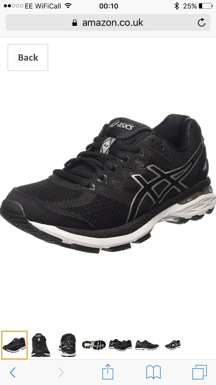 NEW! Asics GT 2000 4 Womens /Ladies Running Size Gym Trainers / 130+ Size Running U.K 4 fcc191