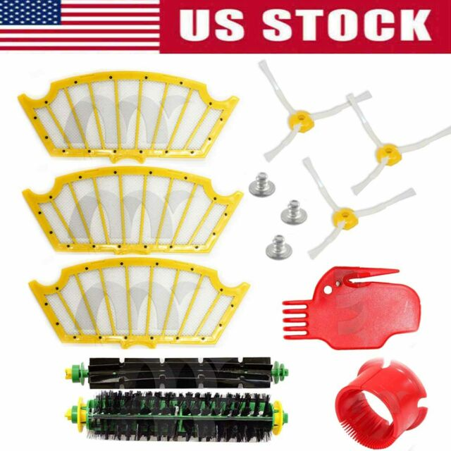 Replacement for iRobot Roomba Robotic Vacuum Parts 5-Pack iRobot Roomba 530 6-Arm Side Brush