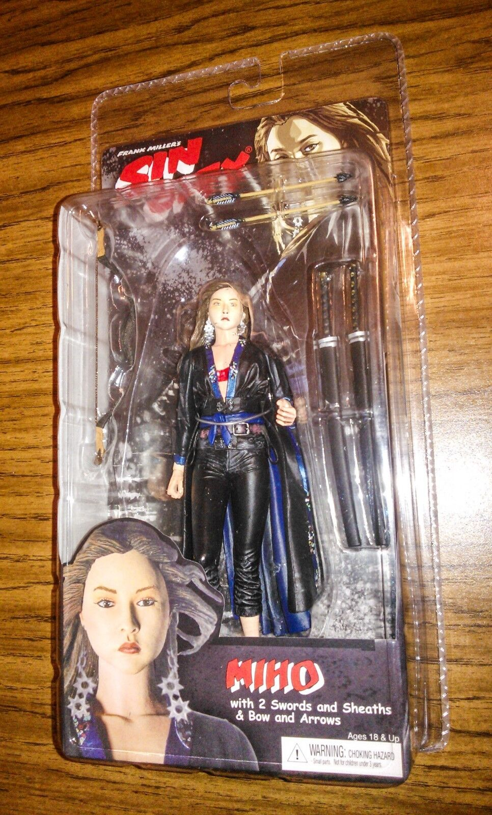 MIHO SIN CITY SERIES 2  Rare color Chase Variant  Neca  Frank Miller
