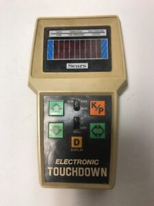 Electronic-Touchdown-Football-by-Sears-Hand-Held-NFL-Game