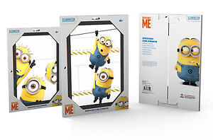 Minions Despicable Me Mirror Decorative Frame 2 Designs 30cm x 20cm