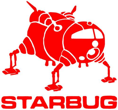 Red Dwarf starbug Autocollant Vinyle Autocollant Pour Voiture Van Tablette Portable Mur