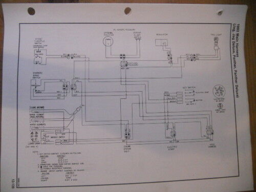 Artic Cat 1993 Main Harness Wiring Diagram Jag Panther
