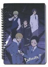 *NEW* Durarara!! Celty, Mikado, Izaya Notebook by GE Animation