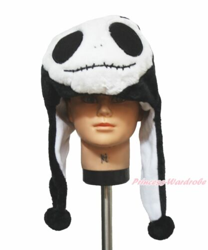 Halloween Party Christmas Jack Skeleton Warm Hat Head Unisex Animal Costume